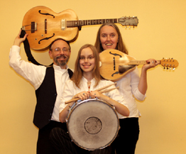 Image of Terran's Greek Band as a trio